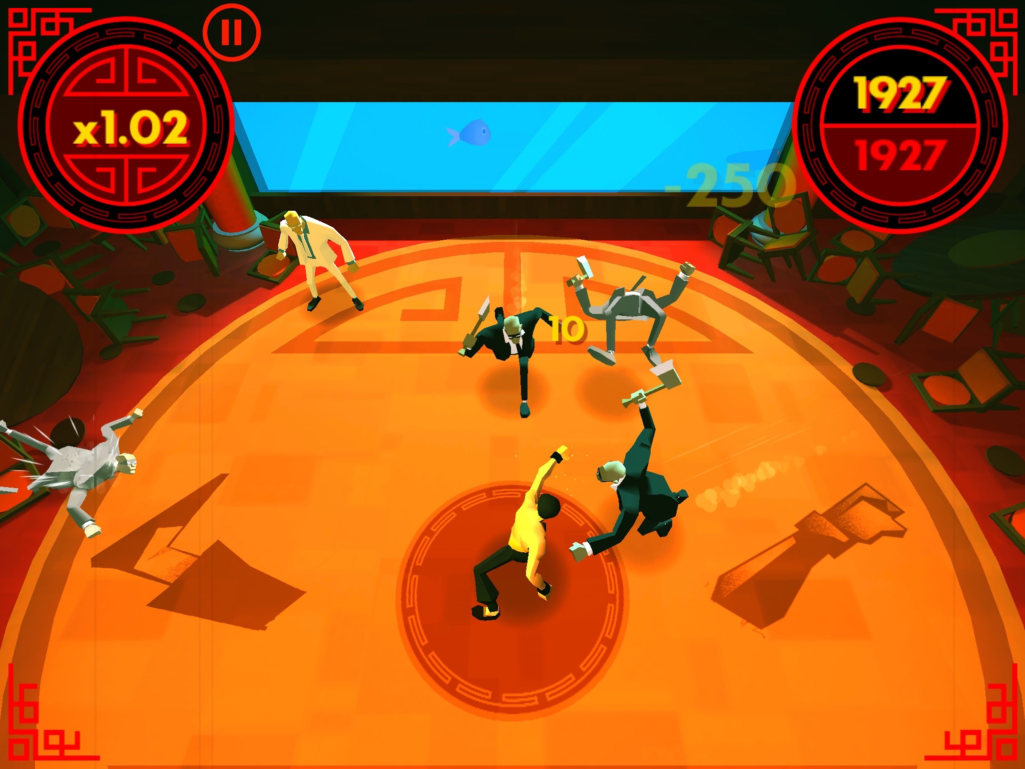 Fingers of Fury - A well executed tap-based brawler