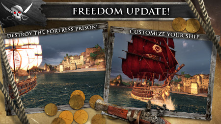 Assassin's Creed Pirates has been updated with a bunch of new content for iPhone and iPad