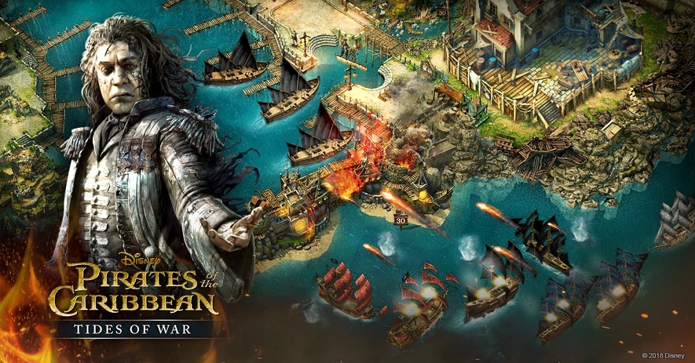 6 playable characters in Pirates of the Caribbean: Tides of War straight out of the movies