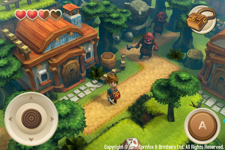 [Update] Critically acclaimed Zelda-like Oceanhorn finally releases for Playstation Vita