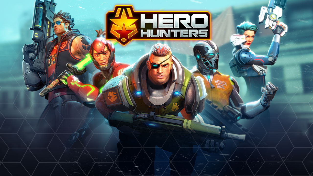 Hero Hunters Android, screenshot