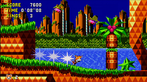 Sonic CD for iPhone, Android, and Windows Phone will include Tails as a playable character
