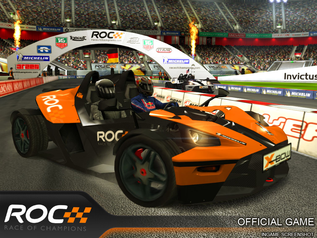 Invictus revs up for official Race of Champions game for iOS and Android