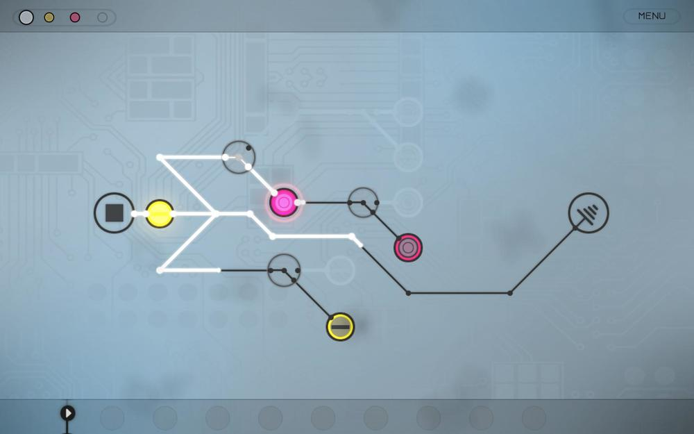 Match the beats and rhythms in musical puzzler Circuits for iPad