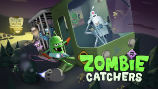 Zombie Catchers is a scrumptious new iOS game about harpooning the undead