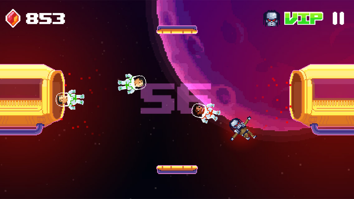 Space Transfer has you bouncing astronauts back to the safety of their ship, out next week