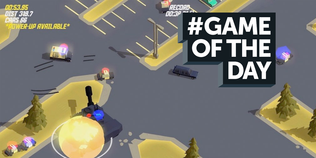 GAME OF THE DAY - Pako Forever is an endless mobile car chase