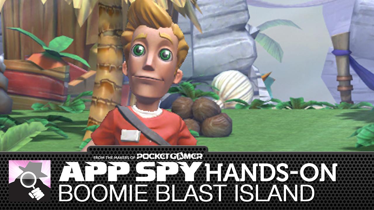 Boomie Blast Island is one part Pac-Man, one part Bomberman