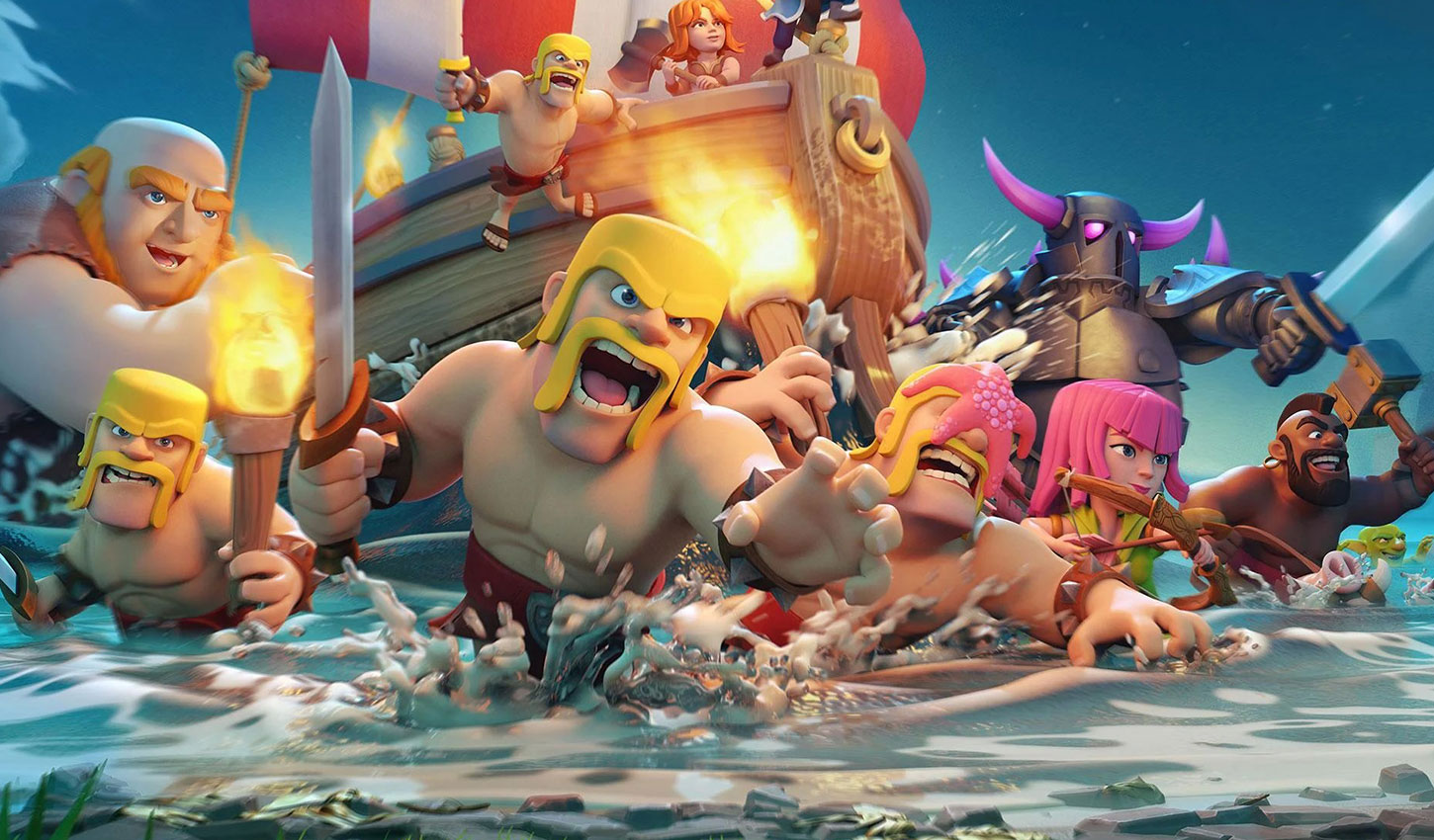 With a daily intake of over $1 million per day, Clash of Clans proves it's still going strong