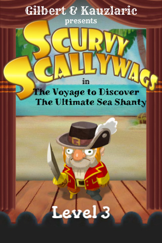 Monkey Island maker Ron Gilbert unveils iOS puzzler Scurvy Scallywags in The Voyage to Discover the Ultimate Sea Shanty: A Musical Match–3 Pirate RPG