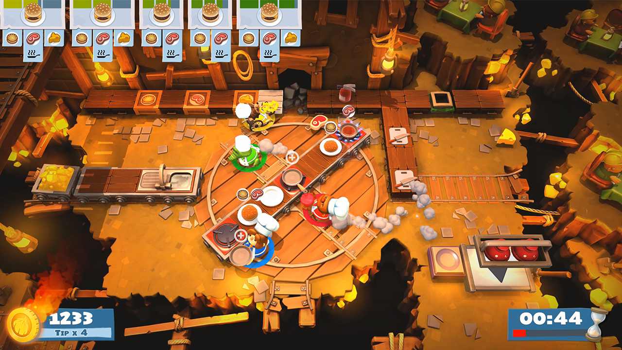 Overcooked 2 Switch preview - Hands-on with the choatic multiplayer party game sequel