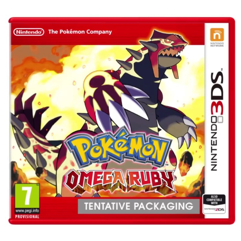 Grab a Pokémon Omega Ruby / Alpha Sapphire demo code from us!