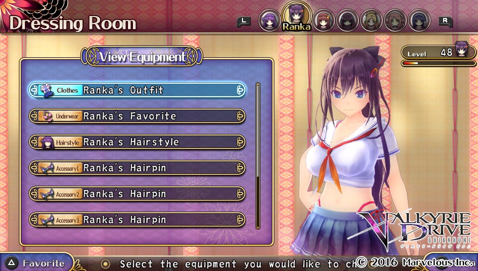 The 5 most awkward places to play Valkyrie Drive: Bhikkhuni
