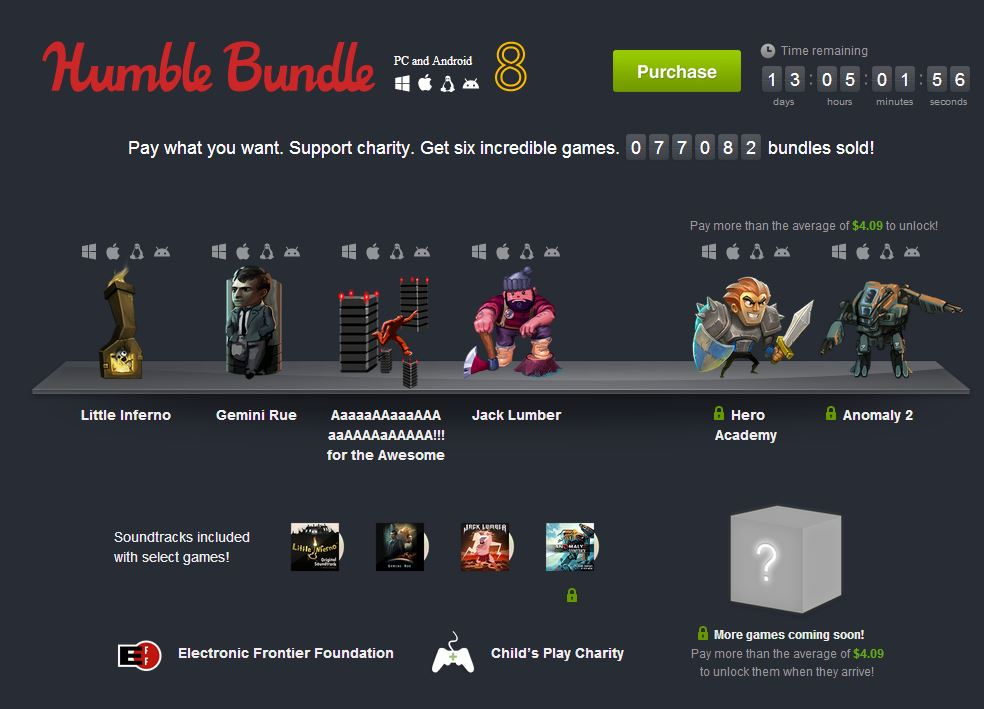 Gemini Rue and Aaaaa!!! for the Awesome make their debut on Android in Humble Bundle 8