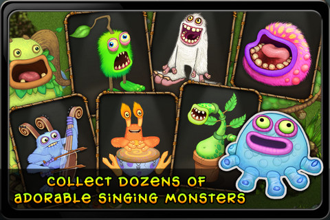 Create sweet beats with critters in My Singing Monsters for iPhone and iPad