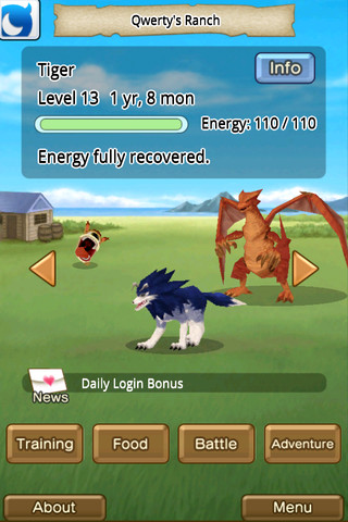 Creature-breeding sim My Monster Rancher out now on iPhone and iPad