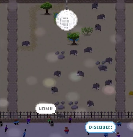 Disco Zoo has been updated with a new region and a bunch of other content on iOS and Android
