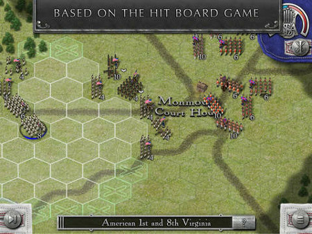 Out at midnight: Rebels and Redcoats is a massive strategy game from Hunted Cow for iPad