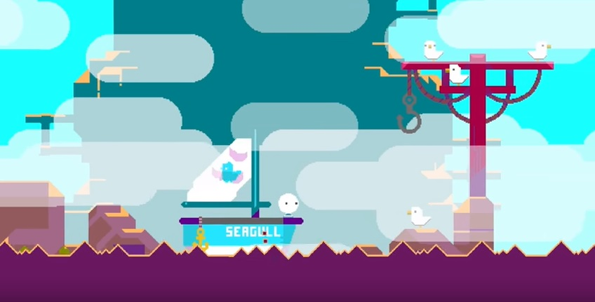 See Beneath The Lighthouse, Nitrome's next adorable game, in action for the first time