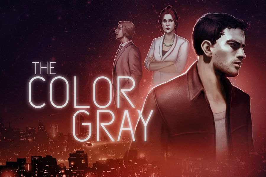 The Color Gray is a graphical adventure title that doesn't contain puzzles