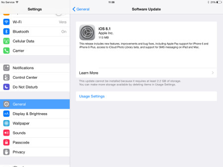 The iOS 8.1 update is live now, adds Apple Pay and brings back the Camera Roll