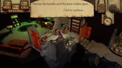 Brave the cavernous dungeons and dangers of The Warlock of Firetop Mountain, out now on iOS