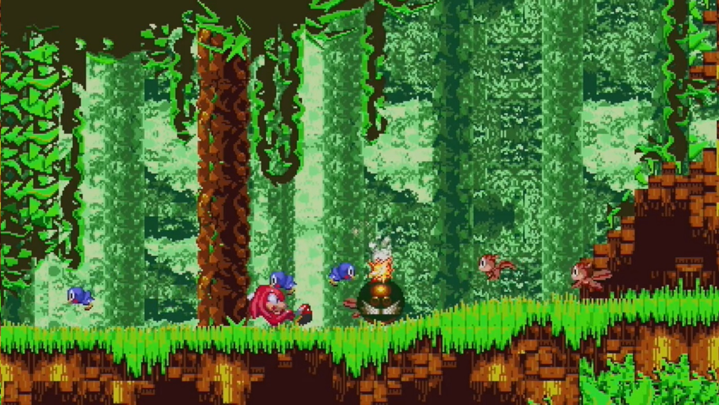 Coders behind official Sonic the Hedgehog remasters release Sonic 3 & Knuckles proof-of-concept