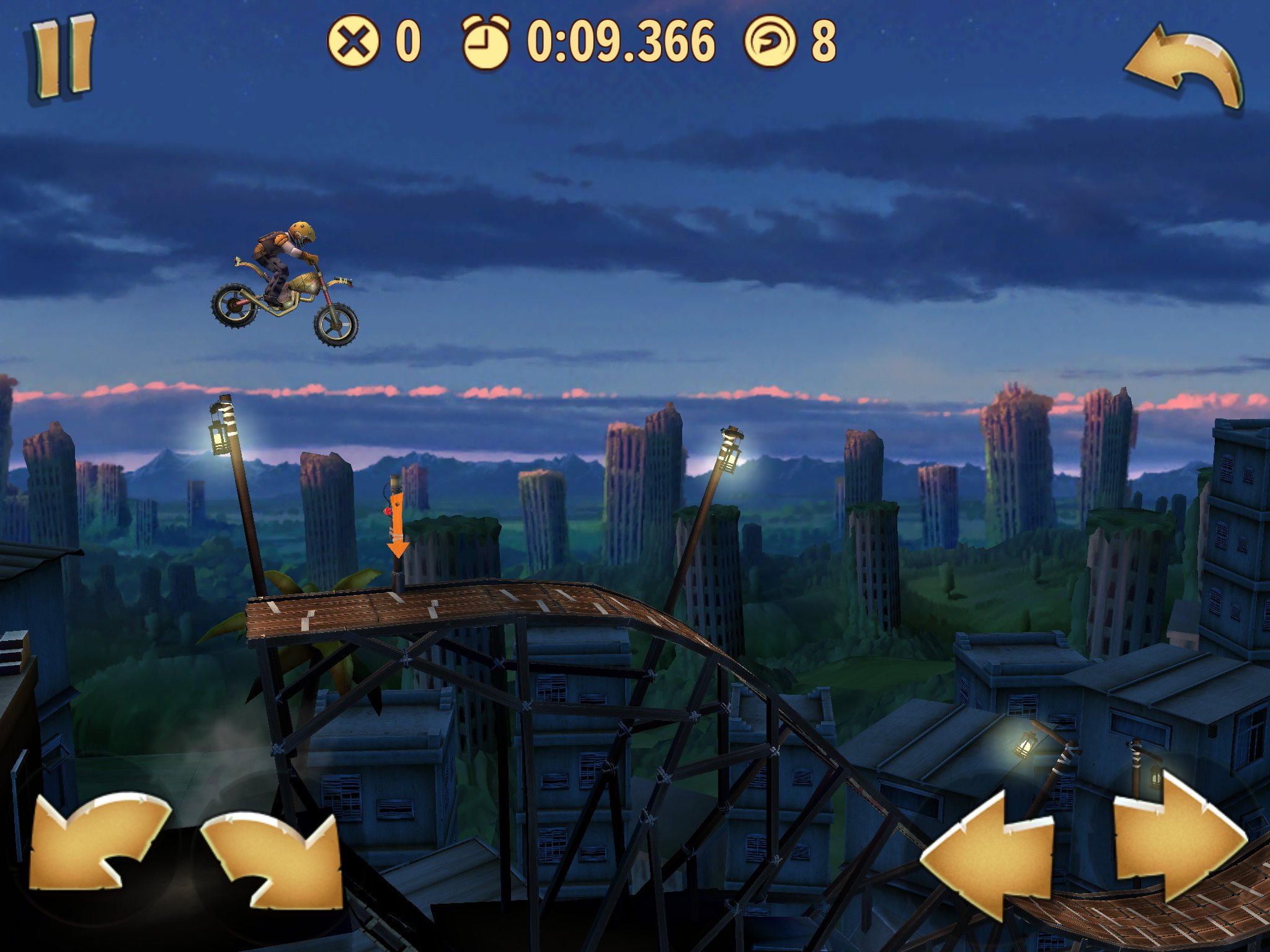 Trials: Frontier update on iOS contains new mission, more tracks, and banana peel throwing