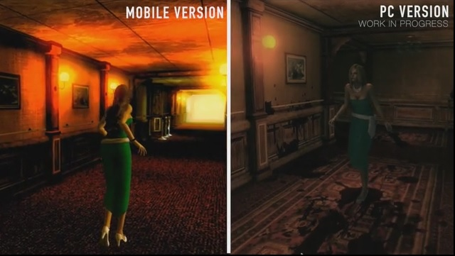 See how J-horror game NightCry's graphics on mobile compare to the PC version