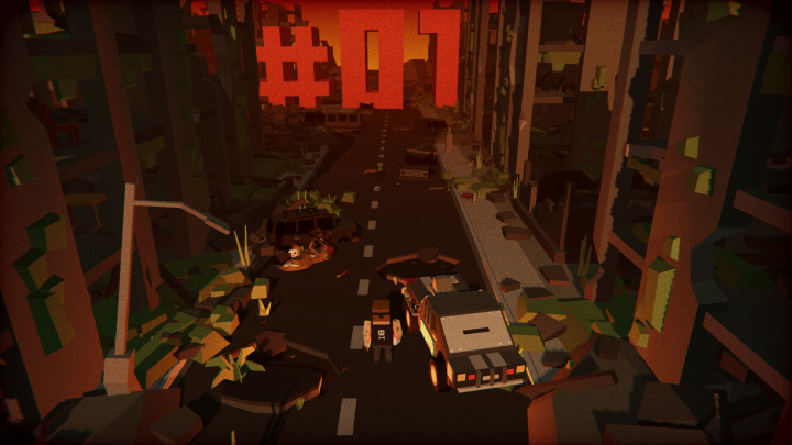 Tappy Sky developer's next game, #01, is a zombie-killing endless racer