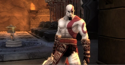 First official God of War: Chains of Olympus PSP images