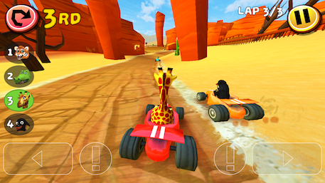 Safari Kart review - A game about driving karts, and not much else