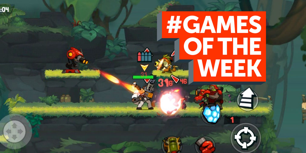 GAMES OF THE WEEK - The 5 best new games for iOS and Android - April 25th