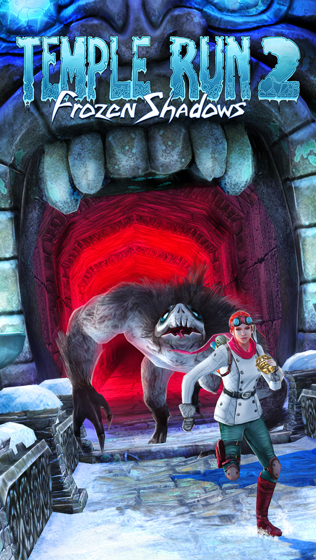 Temple Run 2 has just got a big snowy update featuring demon monkeys