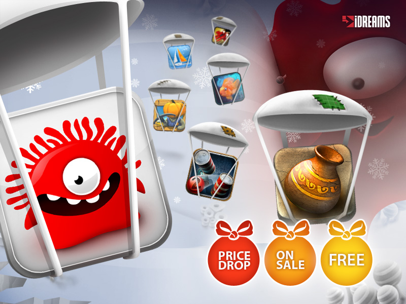 Infinite Dreams holds iPhone and iPad sale - Sky Force and Can Knockdown 2 free, Jelly Defense 69p/99c