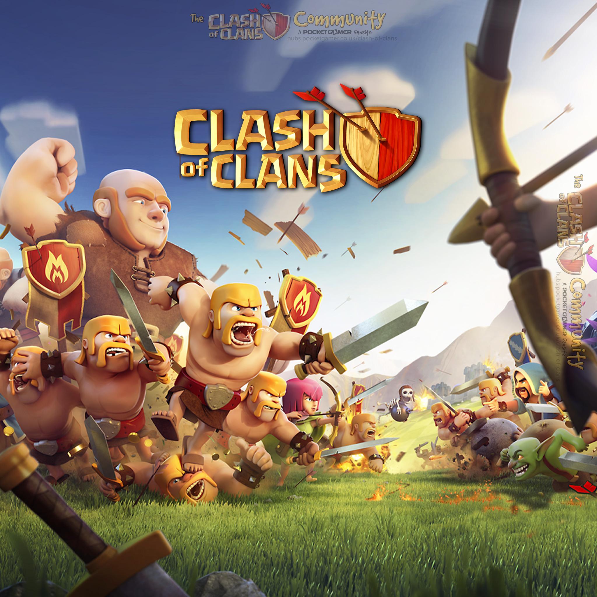 Clash of Clans iPad Wallpaper