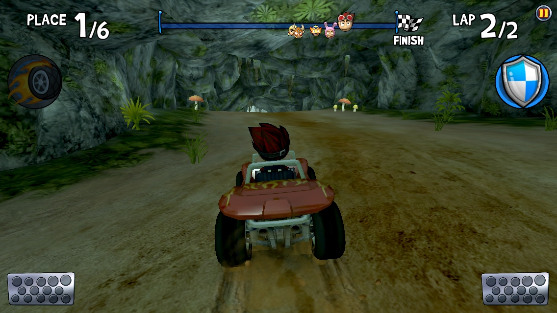 Beach Buggy Racing, the sequel to the Bronze Award-winning F2P kart racer, steers onto iOS and Android