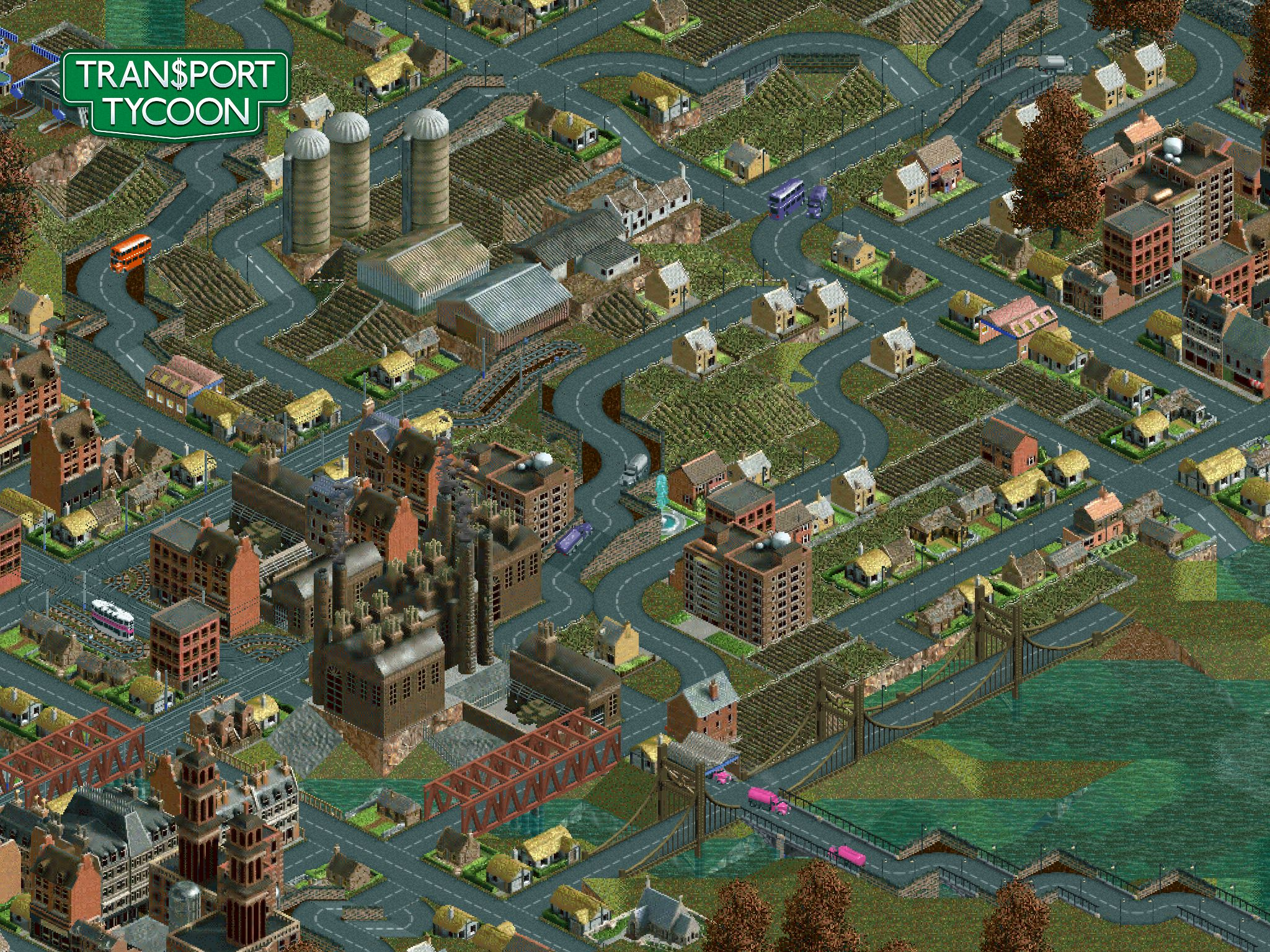 Chris Sawyer confirms Transport Tycoon for iOS and Android won't be free-to-play