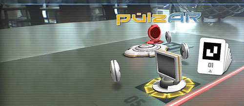 AR action-puzzler PulzAR shoots onto PS Vita today
