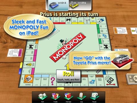 Monopoly house price crash on iPad