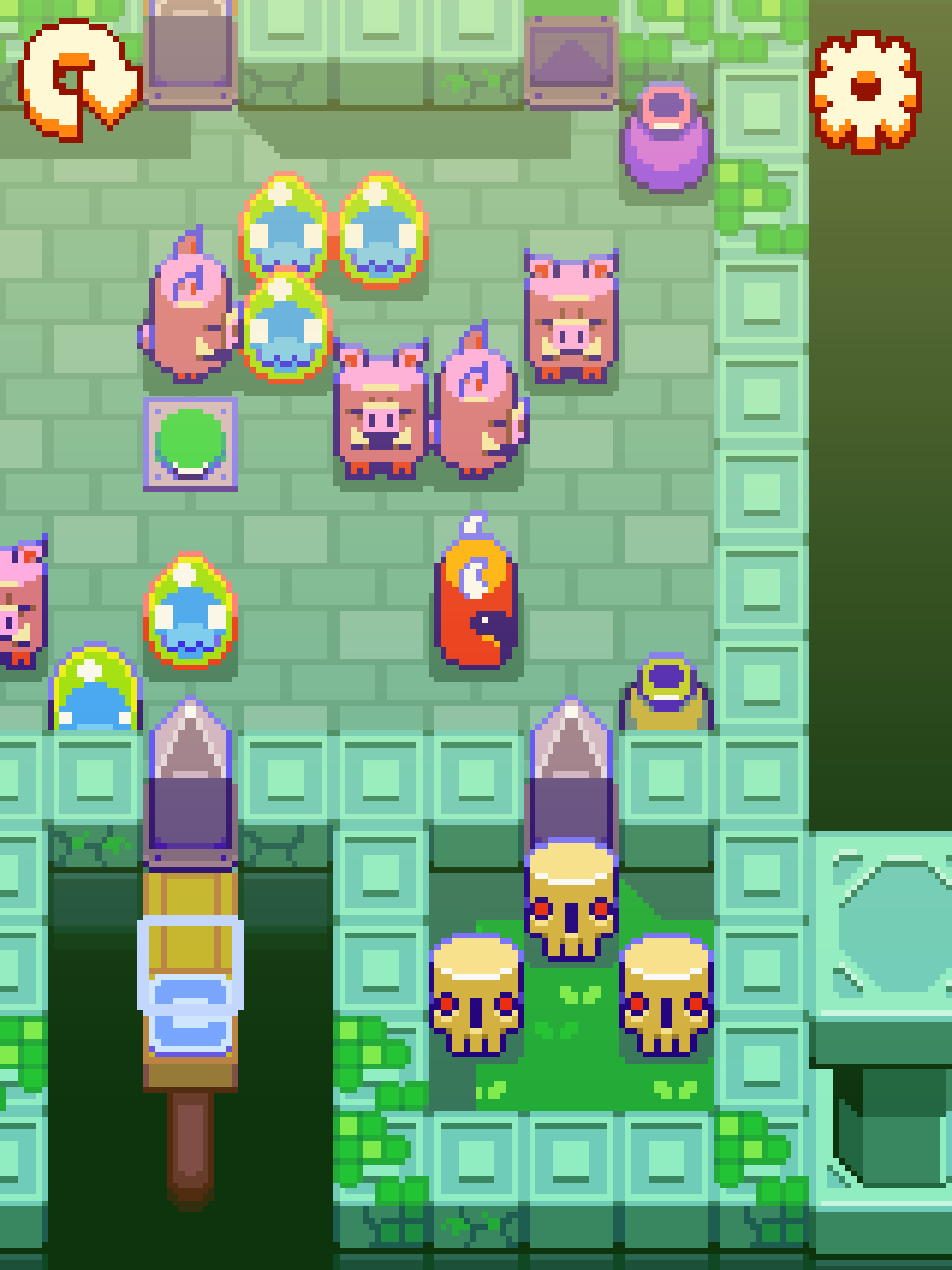Rustbucket - Nitrome takes on the dungeon, and wins