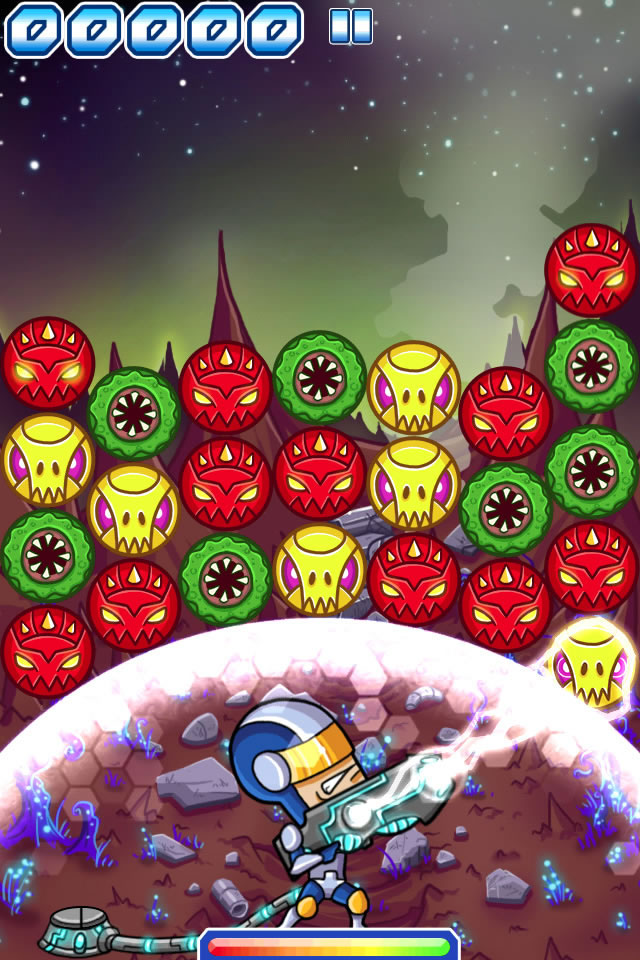 Flicking alien scum with Linkoidz for iPhone and iPad