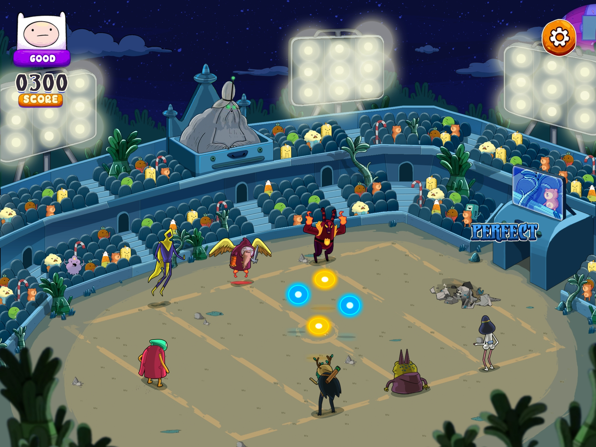 Rockstars of Ooo - Adventure Time Rhythm Game - Slave to the beasts
