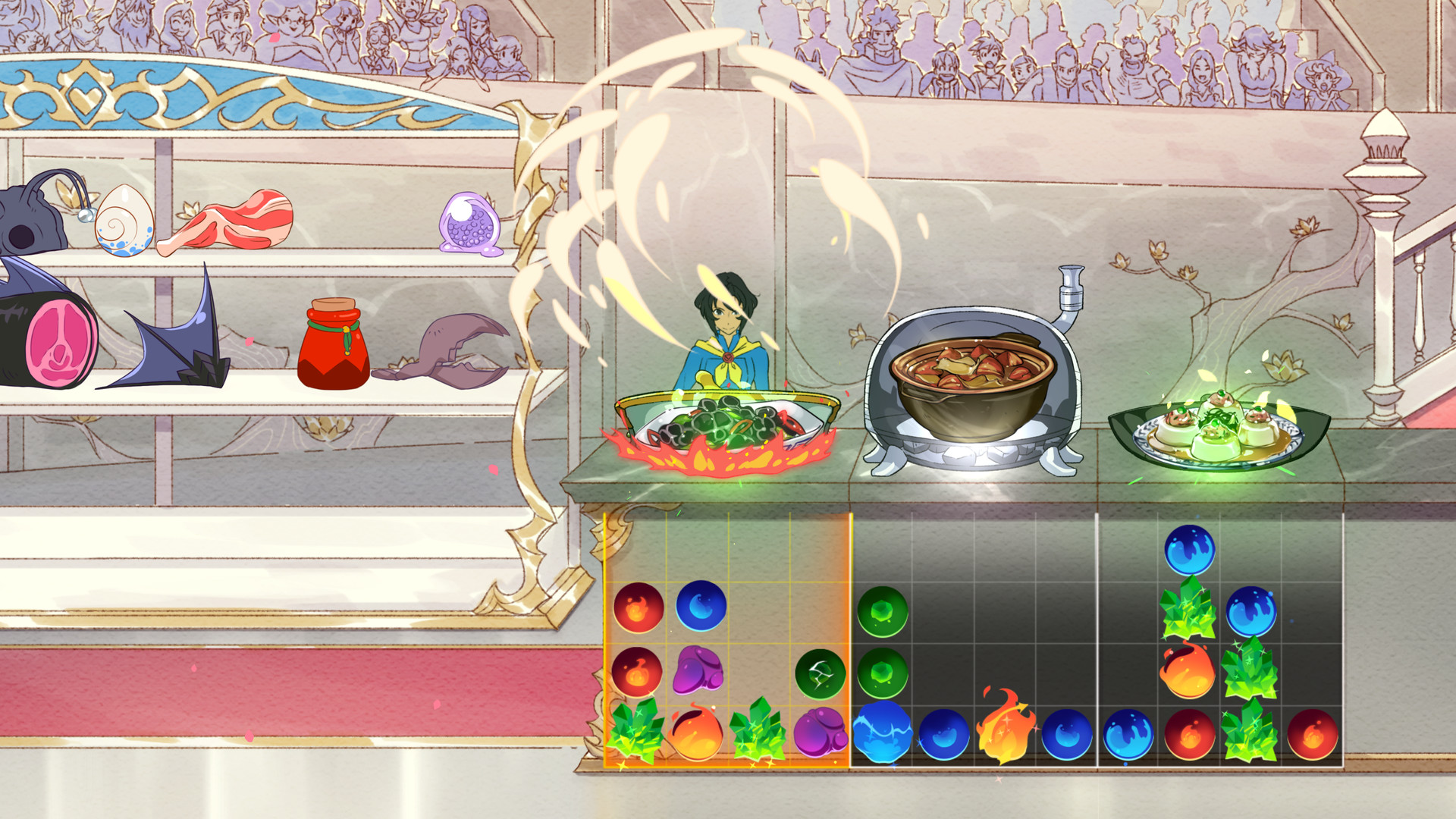 Fight monsters and cook delectable meals in Battle Chef Brigade, releasing on Nintendo Switch this month