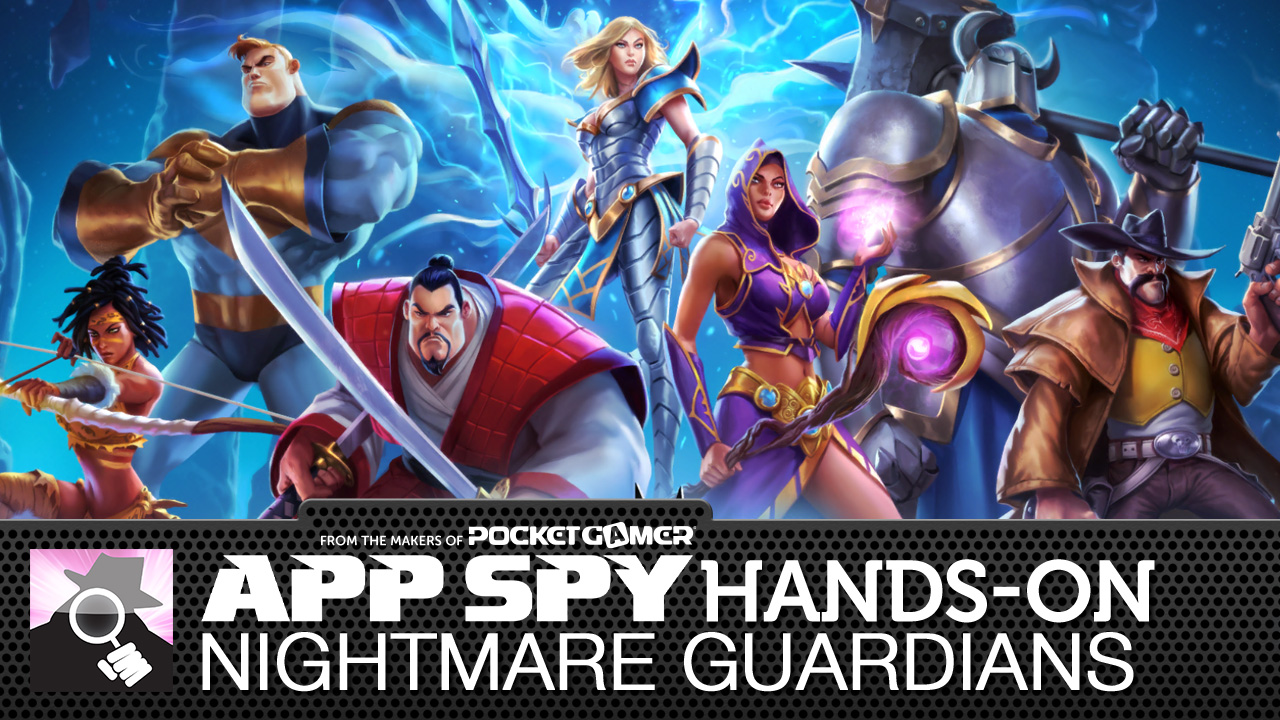 Nightmare Guardians has you battling baddies with powerful spells
