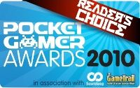 The Pocket Gamer Readers' Choice Awards 2010 are live