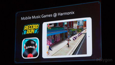 Record Run is a mash-up of endless runner and rhythm game from Harmonix and it's heading to mobile sometime soon