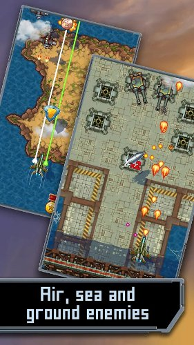 Mig 2D: Retro Shooter is a top-down blaster for Android that does almost everything you'd expect it to do