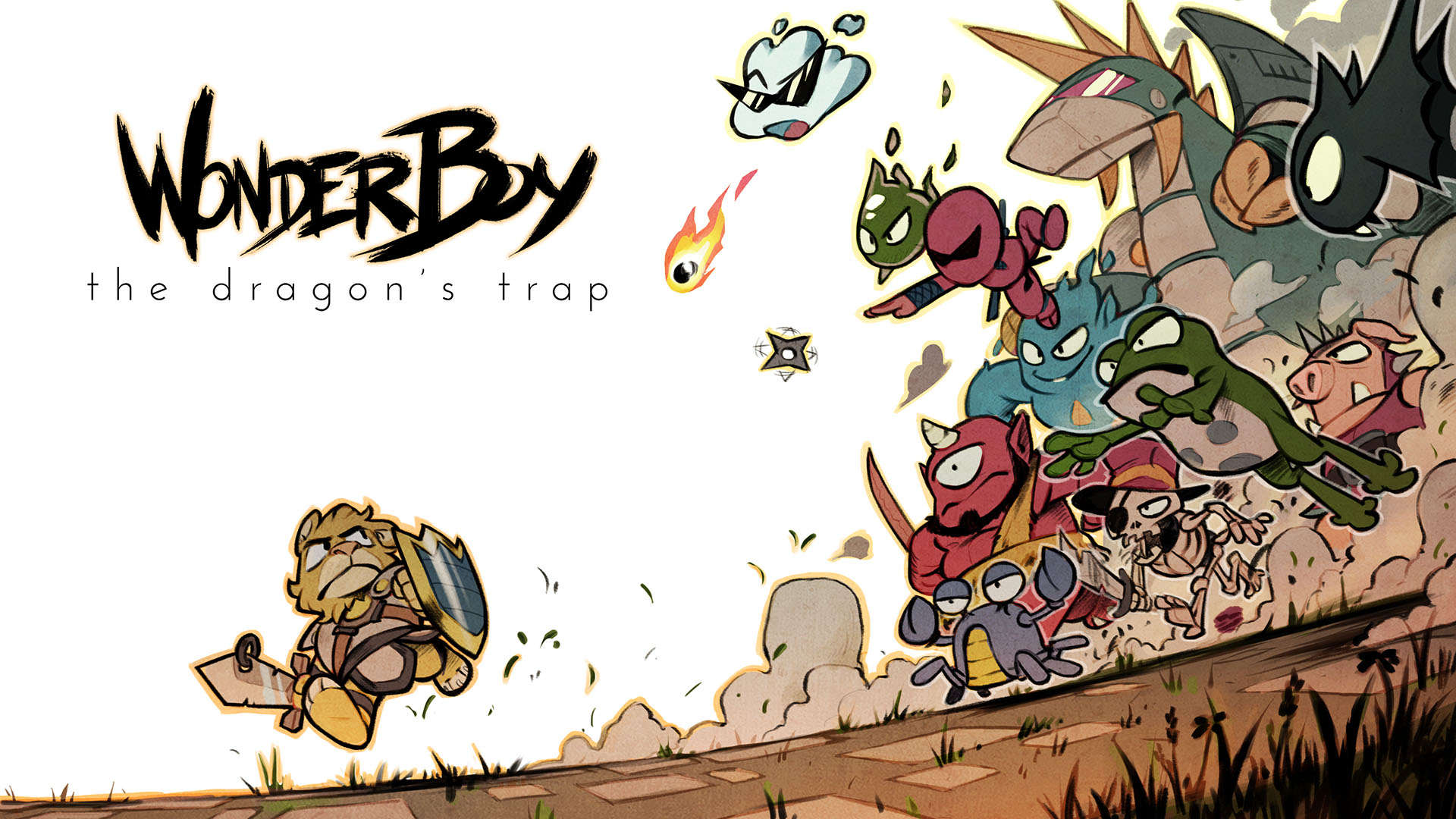 [Update: Trailer] DotEmu is teasing a Wonder Boy III remake called The Dragon's Trap, sadly not for mobile