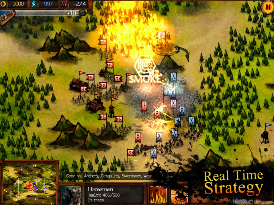 Silver Award-winning RTS Autumn Dynasty is finally available on Android